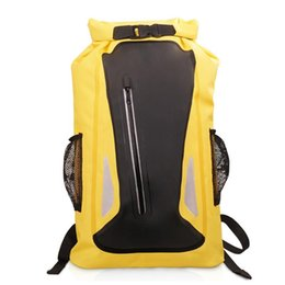 $enCountryForm.capitalKeyWord Australia - Outdoor Waterproof Backpack PVC Safety Reflective Strip Drifting Dry Sack Bag