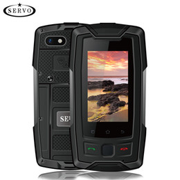 "$enCountryForm.capitalKeyWord NZ - SERVO X7 Plus 2.45"" mini Smartphone LTE 4G CellPhone IP68 Waterproof Rugged Mobile Phone MTK6737 RAM 2GB ROM 16GB Fingerprint NFC GPS Walkie"