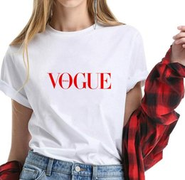 Trade digiTal online shopping - 2019 fashion new digital printed round collar women s T shirt trade source women s T shirt short sleeve vest womens tshirt summer