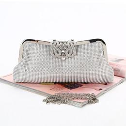 $enCountryForm.capitalKeyWord Australia - Cross-border new diamond-inlaid Dinner Bag pure hand-made diamond evening bag crown head handbag woman spot