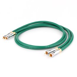 vga audio cord Australia - Hifi audio MCINTOSH 2328 4N Copper RCA Interconnect audio cable wire with Pailicce gold plated plugs RCA to RCA extension cord T200608