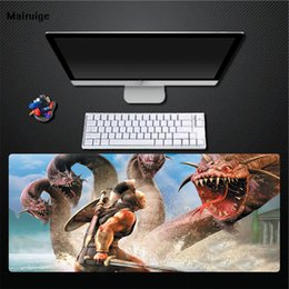 $enCountryForm.capitalKeyWord NZ - Mairuige Warrior Fighting Four-headed Snake Computer Player Exclusive Rubber Mouse Pad Game Special Anti-slip Mat Large Size