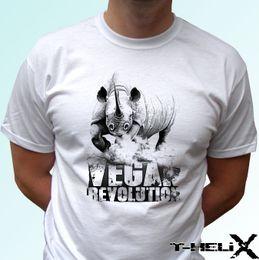 $enCountryForm.capitalKeyWord Australia - Vegan Revolution Rhino - white t shirt top tee veggie vegetarian - all sizesFunny free shipping Unisex Casual Tshirt top