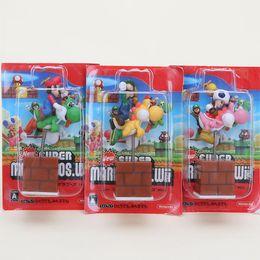 $enCountryForm.capitalKeyWord Australia - super bros figure 3pcs set Cute 3' Super Bros figure Yoshi with Luigi Mushroom spring Shake Figures Model Mario Best
