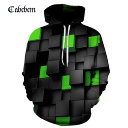 $enCountryForm.capitalKeyWord Australia - Green purple yellow blue red cyan cool check diamond 3D hoodie men women casual Harajuku style hoodie loose coat 6XL