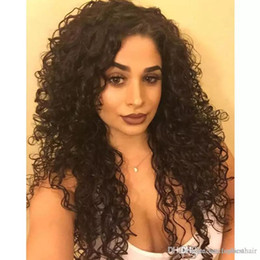 $enCountryForm.capitalKeyWord NZ - Human Hair Lace Front Wig Indian Remy Curly Wave Wigs Full Lace Wigs Glueless Lacefront Human Hair Wigs With Baby Hairs