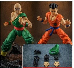 $enCountryForm.capitalKeyWord NZ - Demoniacal fit suit for shf Yamcha Tien Shinhan Accessories headsculpt replacement hair clothes set without figure