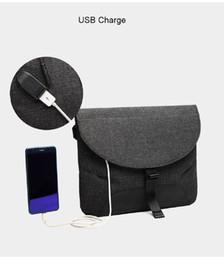 $enCountryForm.capitalKeyWord NZ - USB Waterproof Messenger Bag Men's Multifunctional Side Bag School Outdoor Sports Over Shoulder Crossbody