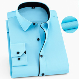 $enCountryForm.capitalKeyWord Canada - 6XL 7XL 8XL Men's Work Shirt Men Shirt Long Sleeve Mens Shirts Casual Slim Fit Men's Clothing Mens Dress Shirts Camisa Masculina