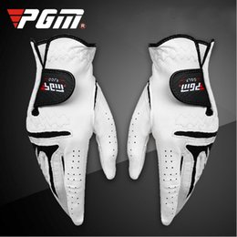 $enCountryForm.capitalKeyWord Australia - High Quality Antiskid Soft Sheep Skin Golf Gloves Men Left Hand Skid With Resistant Particles Free Shipping