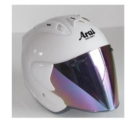 Motorcycle half helMets woMen online shopping - 2019 Top hot ARAI R3 helmet motorcycle helmet half helmet open face casque motocross SIZE S M L XL XXL Capacete