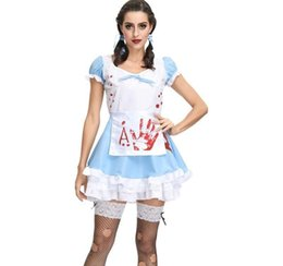 babydoll cosplay Australia - Halloween Pure Maid outfit Sexy Lingerie Cosplay Apron Maid Servant Costume Babydoll Dress Uniform Role play