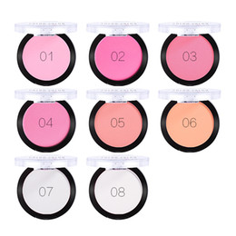 color makeup cosmetic blush blusher palette NZ - Color Salon Blush Makeup Face Cheek Powder Palette Mineral Pigment Brand Professional Blusher Nude Make Up Natural Cosmetic 5.8g