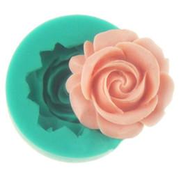 $enCountryForm.capitalKeyWord Australia - Mayitr 3D Rose Flower Silicone Cake Mould Mold chocolate Fondant Cake Cupcake Decorating Sugarcraft Baking Tool Random 3.5x1.5cm