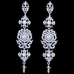 Rhinestone Star Ring Australia - New Fashion Bridal Earrings With Crystals Rhinestone Water Drop Earring Bridal Jewelry Wedding Accessories For Brides
