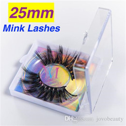 hair fur Australia - Vmae Lashes Makeup Mink Fur Hair Fast Shipping Sexy Long Fluffy 22mm 25mm Soft Wholesale 3D 5D Mink Eyelash Eyelashes Transparent Square Box