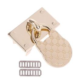 decoration purses 2019 - Metal Lock Shape Replacement Decoration for DIY Handbag Craft Bag Purse Hardware discount decoration purses