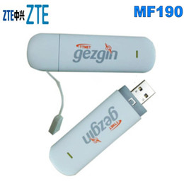 Wholesale ZTE MF190 3G HSDPA USB MODEM ZTE 3G dongle