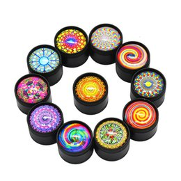 Herb Cutter Australia - 3Layer Plastic Grinder Spinner Wee Herbal Herb Spice Grinders Smoking Pipe Accessories Portble Smoke Cutter Crusher for Tobacco 30mm