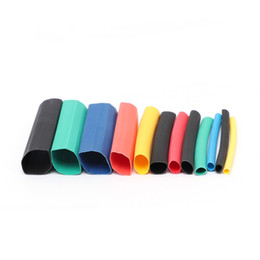Shrink tube kit online shopping - 530pcs Heat Shrink Tubing Insulation Shrinkable Tubes Assortment Electronic Polyolefin Wire Cable Sleeve Kit Heat Shrink Tubes