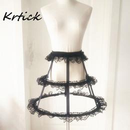 $enCountryForm.capitalKeyWord Australia - New Style Petticoats 2 Hoops Short Underskirt Crinoline With Lace for Wedding Bride Formal Dress White Black Wedding