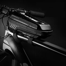 $enCountryForm.capitalKeyWord Australia - WILD MAN Bicycle Bag Triangle Frame Pannier MTB Road Cycling Top Tube Bag EVA Shell Waterproof for Repair Tools bolsa bicicleta