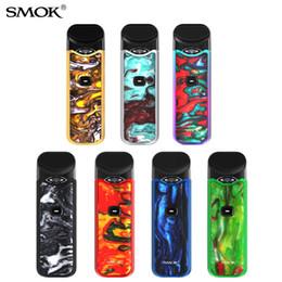 Discount smok kits - SMOK Nord Kit Resin Colors 1100mAh Pod System Kit Button-triggered with Nord Pod Cartridge 3ml Sub-ohm & MTL Vaping Kit