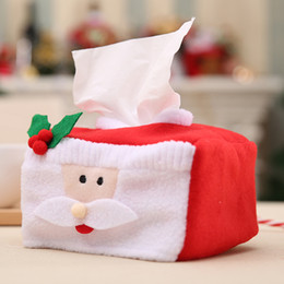 Decoration fortune online shopping - 1pc Reusable Christmas Ornaments Portable Merry Christmas Tissue Box Fortune symbolizing Box for Decorations