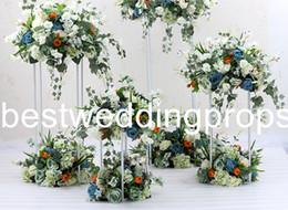 $enCountryForm.capitalKeyWord Australia - Hotel supplies flower decoration wedding DIY party decor luxury props wedding centerpieces table vase home decor flower holder ornament best