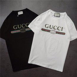 8e10f254b3 19ss primavera new designer de marca de luxo modelos básicos t-shirt das  mulheres dos homens de moda respirável streetwear camisolas ao ar livre  t-shirts