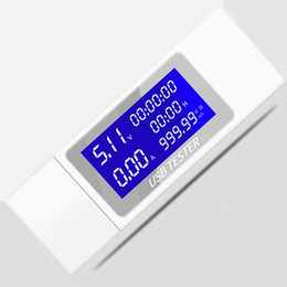 Dc voltage powereD lcD Display online shopping - 9 In Lcd Display Mobile Battery v Voltage Current Tester Best Usb Charger Detector Power Meter