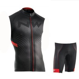 Downhill Bicycles NZ - NW 2019 Cycling Jersey Set Men sleeveless MTB Bike Breathable Clothing Ropa Ciclismo Team Downhill Bicycle Jersey Maillot Ciclismo