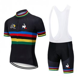 $enCountryForm.capitalKeyWord Australia - Can be customized LOGO Hot sale quick dry wholesale men cycling jersey Bicycle Jersey And Bibs Cycling Wear Polyester Cycling Jersey#1991011