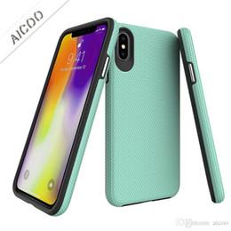 Опт Тонкий гибридный чехол для телефона Defender Противоударный чехол для iPhone XS MAX XR X 8 Samsung Note9 S9 S10 Plus J3 J7 A8 2018 LG G7 OPP