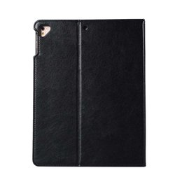 Waterproof Case 5.5 Australia - High Quality Imitation Leather Tablet Case For ipad 5 6 AIR With Built-in Pen Slot Folding Stand Dormancy Case Shell
