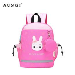 Bear Books Australia - AUSQI Cute Rabbit and Bear Kids Backpack,Children School Backpack Book bag for Girls and Boys Kindergarten,Toddler preschool
