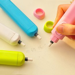 $enCountryForm.capitalKeyWord Australia - 1pc Student Supply Store Creative Cute Stationery Sketch Painting Cleaner w48 Electric Automatic Eraser