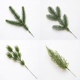 $enCountryForm.capitalKeyWord Australia - Artificial Pine needles Christmas Tree Ornaments Fake Cypress leaf Plants Branches for Xmas Decor Home Party Decorations 62622
