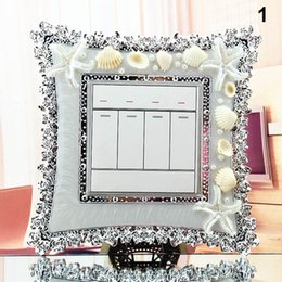 crystal surround NZ - Exquisite Switch Stickers Surround Socket Cute Flower Cover Stickers Decor AC889