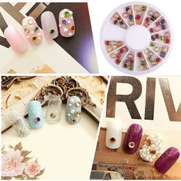 Flight Tracker 20 Designs Colorful Nail Rhinestones Mix Size Shiny Nail Art Jewelry Decoration Tips Flat Back Diamond Manicure Accessories High Resilience Nails Art & Tools Rhinestones & Decorations