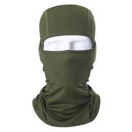 $enCountryForm.capitalKeyWord Australia - Outdoor Windproof Breathable Full Face Ski Shield Solid Anti-UV Cycling All Years Casual Mask Hat