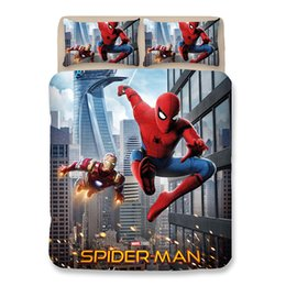 spiderman beds Australia - 3D Printed Game Young Spiderman Bedding Sets US Size Duvet Cover with pillowcase quilt covers Single Twin Full Queen Super King 4pcs