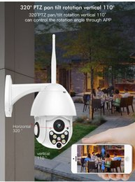 Venta al por mayor de Cámara inalámbrica de 1080p Pan Tilt Network Home CCTV IP Visión nocturna WiFi Cámara4X ZOOM 1080P FHD In / Outdoor 360 ° PTZ IP Speed ​​Dome Camera 2