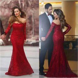 c2ffd400f367 Plus Size Engagement Party Dresses UK - Abendkleider plus size long sleeve elegant  evening formal dresses