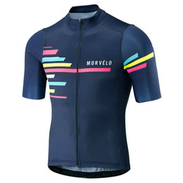 Bicycle Sales NZ - 2019 summer Morvelo Cycling Jersey Men Short sleeve mtb bike shirts tour de france road bicycle clothing factory direct sale 112907Y