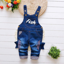 ebd1e29136 good quality 2019 baby boys pants clothing spring autumn girls denim  overalls jeans newborn infant toddler boys casual pants&clothes