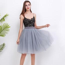 dfff6e41b2 New Puffty Layered TUTU Tulle Skirts Womens High Waist Midi Knee Length  Chiffon Skirt Jupe Female Tutu Skirts Faldas