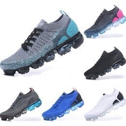 Wholesale With Box FK Breathable Fly Wire Running Shoes FK All AirCushion Cushioning Sports Shoes