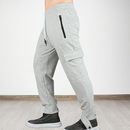boys drawstring sweatpants NZ - Maoxzon Mens Casual Loose Jogger Fitness Long Pants For Boys New Drawstring Pocket Active Running Workout Sweatpants Trousers