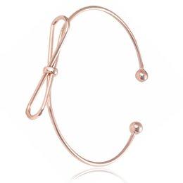 Verkauf 1 Stück Silber Armband Weibliche Großhandel Einfache Feder öffnung Armreif Weiblichen Für Frauen Schmuck Schmuck & Zubehör Armreifen